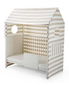 Home™ Toddler Bed Tent, Beige/White by Stokke at Bergdorf Goodman.