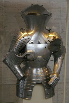 Germany, 19th century in the style of armours made in Nuremberg ~1480-90. The Stechzeug was a form of joust with blunted lances.