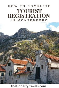 There's much confusion surrounding tourist tax and registering with the police in Montenegro. Find everything you need to know plus our step-by-step guide. #Montenegro #Europe