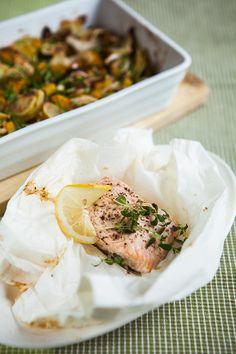 Tymián a citron se skvěle doplňují; Food Inspiration, Camembert Cheese, Fish, Pisces