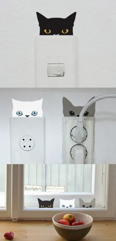 These are great ideas for the cat lover in your life! From clothes to accessories and more. Oh - and they are all super inexpensive!Tap the link to check out great cat products we have for your little feline friend! Crazy Cat Lady, Crazy Cats, I Love Cats, Cool Cats, Cat Room, Ideias Diy, Cat Cafe, Cat Decor, Cat Accessories