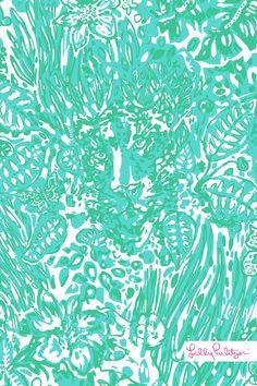 Lilly Pulitzer wallpaper Bungle in the Jungle
