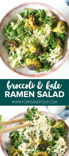 Broccoli and Kale Ra
