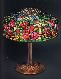 Unique photo - read up on our commentary for even more choices! Stained Glass Lamps, Leaded Glass, Mosaic Glass, Glass Art, Lampe Art Deco, Art Deco Lamps, Rustic Lamps, Antique Lamps, Victorian Lamps