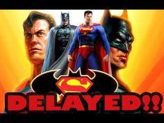 Batman vs Superman Delayed Until 2016!