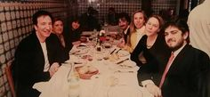 """""""1998 - Alan Rickman and Rima Horton with friends in Madrid. Copyright © Tri Pictures """""""
