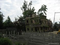 Geauga Lake ruins, Aurora OH  . This is sad! However, have a lot of memories from this place!