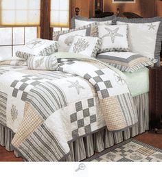 Hightide Shells Bedding Quilt Set