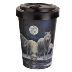 Bamboo Composite Warriors of Winter Lisa Parker Wolf Travel Mug If you are looking for a range that is not only great for the planet but also looks super cool, then check out our eco friendly range of picnic and kitchen accessories. Made from bamboo composite which contains a mix of 60% bamboo, 35% melamine and 5% cornstarch, this reusable range contains no BPA and no phthalate. The bamboo is sustainably grown. Height 13.5cm Width 9cm Depth 9cm (approx 5.5 x 3.5 x 3.5 inches) Volume: 500ml Gifts For Mum, Little Gifts, Wolf Warriors, Lisa Parker, Winter Wolves, Alternative Artists, Four Micro Onde, Reusable Cup, Travel Cup