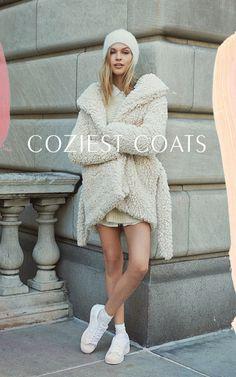 { cream colored coats }