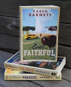 Read more about 1930s Yellowstone National Park in this novel by Karen Barnett.
