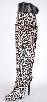 Jimmy Choo Over Knee Pony Hair Leopard Print Titan 37 7 New Multi-Color Boots. Get the must-have boots of this season! These Jimmy Choo Over Knee Pony Hair Leopard Print Titan 37 7 New Multi-Color Boots are a top 10 member favorite on Tradesy. Save on yours before they're sold out!