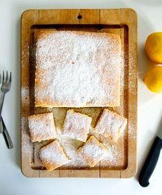 Light and Airy Lemon Sponge Cake (Gluten Free)