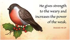He Gives Strength Care & Encouragement eCards - Free Christian Ecards Online Greeting Cards: Bible Christian Ecards, Christian Messages, Christian Videos, Christian Pictures, Christian Quotes, Scripture Cards, Bible Scriptures, Popular Bible Verses, Isaiah 25