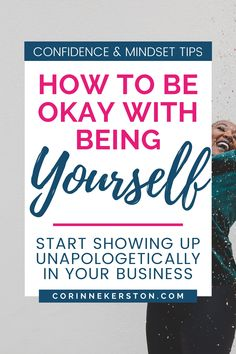 Do you want to be unapologetically yourself? To have the confidence and mindset you need to show up in your business, serve your audience, and find true success? On the blog you can how to get past your own mental blocks and learn to be okay with your true self and live your life confidently. CorinneKerston.com #confidence #empowering #businesstips #mindset Make You Feel, How Are You Feeling, How To Get, Affect Me, I Was Wrong, Sharing Quotes, How To Gain Confidence, Success Mindset, Learning To Be