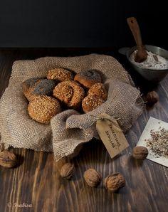 Panecillos de semillas a las tres harinas