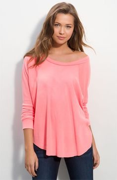 Love this top....and it's thermal. Find it at Nordstrom!