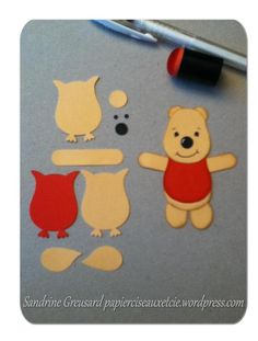 winnie the pooh punch art owl punch stampin up Kids Cards, Baby Cards, Arte Punch, Owl Punch Cards, Paper Punch Art, Art Carte, Owl Card, Kids Birthday Cards, Disney Scrapbook