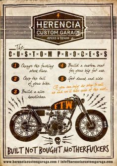 This is just right #illustration #motorcycles | caferacerpasion.com