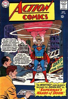 Action Comics #238 Superman's Hands of Doom!