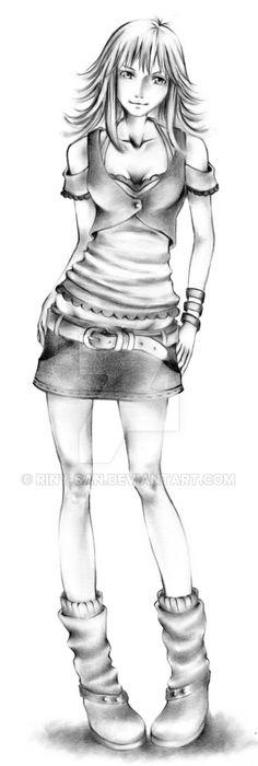 New Selphie Tilmitt by Riny-san.deviantart.com on @DeviantArt