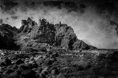 The Banshee of Dunluce Castle Headless Horseman, Spooky Places, Art Portfolio, Fine Art Photography, My Images, Monument Valley, Ireland, The Past, Castle
