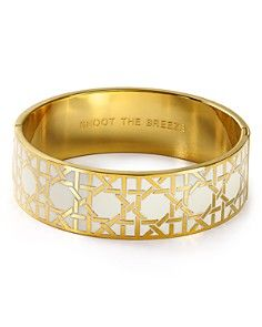 """My Dad used to say """"shoot the breeze"""" all the time. If this bangle was thinner it would be a must have. Kate spade new york Shoot the Breeze Idiom Bangle"""