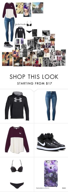 """we r ment to be"" by jessica101turner ❤ liked on Polyvore featuring Under Armour, Frame Denim, Victoria's Secret, NIKE, Charlotte Russe, women's clothing, women, female, woman and misses"