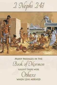 Did you know that the Book of Mormon text suggests there were others in the New…