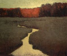 """River at Dusk"" by Jeannie Sellmer"