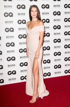 Every Time Bella Hadid Wore a Dress With an Insane Leg Slit