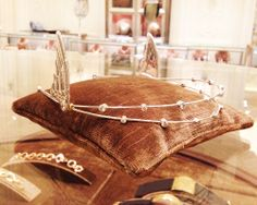 FOR HER - forget cupid's wings... try a Solange crown instead. 212 872 2570