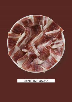 Typical Spanish Pantone Food: Gastromedia relaciona comida y color.