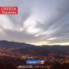 #Oferta Tiquetes de Bogotá a Medellín del 10 al 17 de mayo por $140.220 ¡No lo dejes pasar! WWW.TUTIQUETE.COM  ¿Preguntas? No dudes en escribirnos.