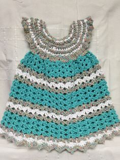 Crocheted Toddler dress Candy Sprinkles- found on etsy @ memawscountrycrafts