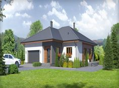 Projekty domów parterowe– House Invest