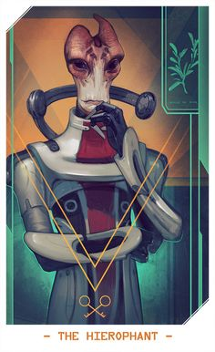 So from today on shallete and I start posting Mass Effect related pictures. Basically - MassEffect tarot cards. Like those for DA:Inquisition, but for Mass Effect. (captain..) You can find her card...