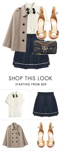 """""""Bez tytułu #734"""" by nikolaa1394 ❤ liked on Polyvore featuring Michael Angel, Francesco Russo and Gucci"""