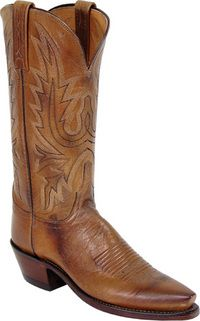 Actually I already own these Lucchese Cowboy Boots. I paid a dollar for them at the yard sale, hee hee
