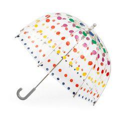 Dot Umbrella-25 Rainy Day Essentials for Kids