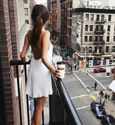 Mornings with coffee