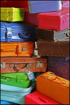 ❧ Valises et bagages ❧: