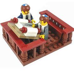 Our newest set! Bar Mitzvah Lego set, complete with custom kippa and tallit. Go to www.jbrick.com to purchase! #jew #jews #judaica #jewishlego #lego #afol #minifigs #legostagram #barmitzvah #barmitzvahswag #customlego #gift #giftidea #jewish #jewishgifts
