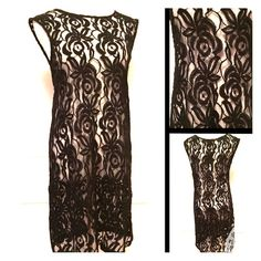 "DAISY FUENTES ""GARDEN PARTY BLACK SHEER DRESS Love this sheer ""Garden Party"" dress by Daisy Fuentes. New with tags. Size Medium. 36"" length 38"" bust. No trades. Pay Your Way- Poshmark now accepts Apple Pay, PayPal, and Android Pay. Thank you for stopping by @treasuresbytrac  Daisy Fuentes Dresses"