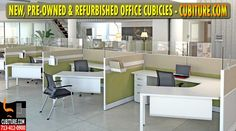 Used Office Cubicles For Sale, Installation, Moving, Relocation, Reorganization, Office Furniture Storage, Millwork & More. FREE Quotes.