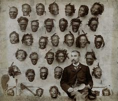 Some Christian Missionaries collected African land, gold , diamond, while some collected the heads of the Africans...