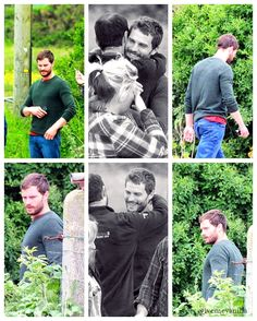 Jamie Dornan 'The Fall' set June13th