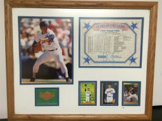 Framed and Matted Nolan Ryan Commemorative Piece