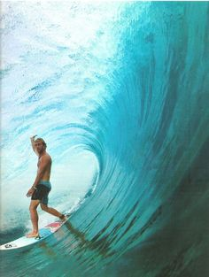 Amazing picture of Josh Kerr for Surfer Magazine, July issue