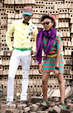 BelAfrique - your personal travel planner - www.BelAfrique.com Modern Tribe, Afro, Seventies Fashion, Cool Style, My Style, African Culture, Africa Fashion, Mixing Prints, Swagg